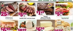 Gerrity's Weekly Circular October 11 - October 17, 2020. All Beef Roasts on Sale!