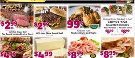 Gerrity's Weekly Circular October 25 - October 31, 2020. Fresh Meat on Sale!
