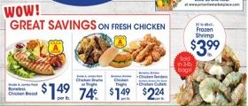 Price Rite Weekly Ad October 9 - October 15, 2020. Great Savings on Fresh Chicken