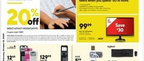 Staples Weekly Ad October 4 - October 10, 2020. School On, Save On!