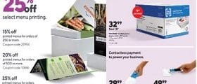Staples Weekly Flyer October 18 - October 24, 2020. Crayola Products on Sale!