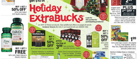 CVS Weekly Ad November 22 - November 28, 2020. Holiday Extrabucks!