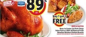 Winn Dixie Weekly Flyer November 4 - November 10, 2020. Honeysuckle Grade A Frozen Turkey