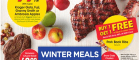 Kroger Weekly Ad January 6 - January 12, 2021. Winter Meals Made Easy!