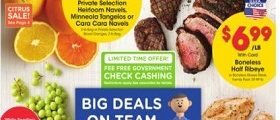 Kroger Weekly Flyer January 27 - February 2, 2021. Big Deals on Team Meals!