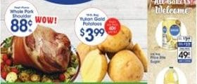 Price Rite Weekly Flyer January 22 - January 28, 2021. Fresh Picnic Whole Pork Shoulder