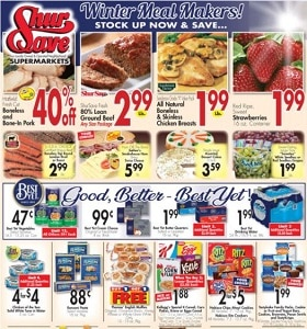 Gerrity's Weekly Ad February 21 - February 27, 2021. Winter Meal Makers!