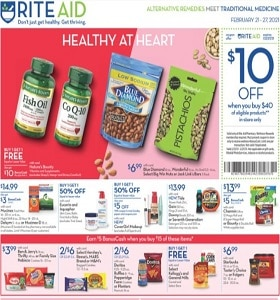 Rite Aid Weekly Circular February 21 - February 27, 2021. Stock Up On Wellness!