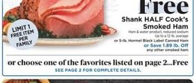 ShopRite Weekly Ad February 28 - March 6, 2021. Holiday Dinner Deals!
