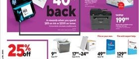 Staples Weekly Ad February 14 - February 20, 2021. Presidents' Day Deals!