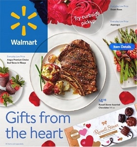 Walmart Circular Ad February 3 - February 14, 2021. Gifts From The Heart!