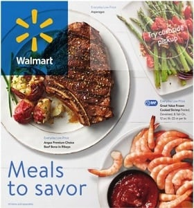 Walmart Circular Ad February 15 - March 2, 2021. Meals To Savor!