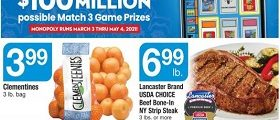 Acme Weekly Circular March 19 - March 25, 2021. Easter Savings!