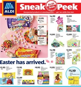 Aldi Weekly Ad March 10 - March 16, 2021. Easter Savings!