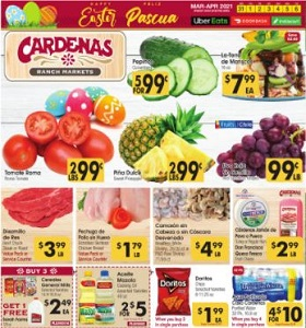 Cardenas Weekly Ad March 31 - April 6, 2021. Happy Easter!