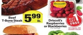 Save Mart Weekly Ad March 3 - March 9, 2021. Driscoll's Raspberries or Blackberries