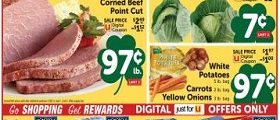 Shaw's Weekly Ad March 12 - March 18, 2021. Happy St. Patrick's Day!