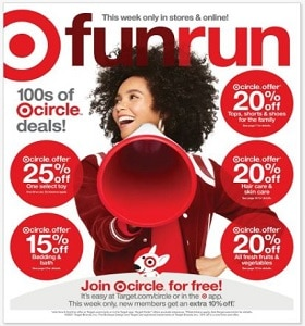 Target Weekly Ad March 7 - March 13, 2021. Fun Run!