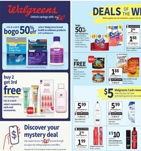 Walgreens Weekly Ad March 7 - March 13, 2021. Feel Good & Save!