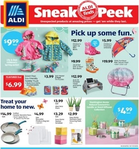 Aldi Weekly Ad April 14 - April 20, 2021. Pick Up Some Fun!