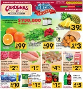 Cardenas Weekly Ad April 14 - April 20, 2021. Sweet Pineapple