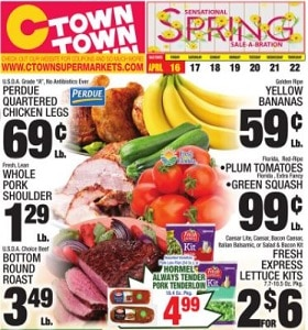Ctown Weekly Ad April 16 - April 22, 2021. Spring Sale-A-Bration!
