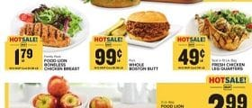 Food Lion Weekly Ad April 21 - April 27, 2021. Sizzling Flavors!