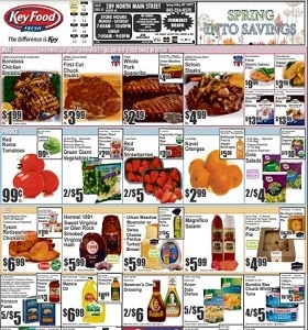 Key Food Weekly Circular April 9 - April 15, 2021. Spring Into Savings!