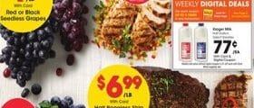 Kroger Weekly Ad April 7 - April 13, 2021. Fresh Heritage Farm Boneless Chicken Breasts