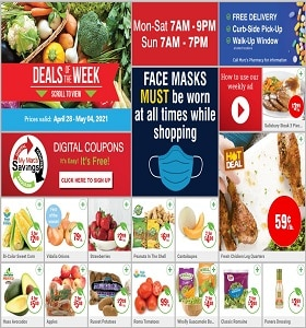 Marc's Weekly Ad April 28 - May 4, 2021. Fresh Chicken Leg Quarters