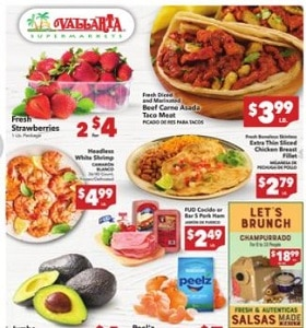 Vallarta Weekly Circular April 7 - April 13, 2021. Fresh Strawberries on Sale!