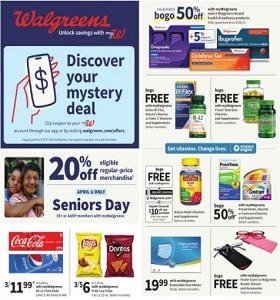 Walgreens Weekly Ad April 11 - April 17, 2021. Cool Deals!