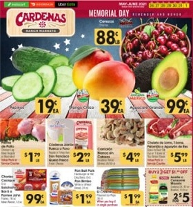 Cardenas Weekly Ad May 26 - June 1, 2021. Hot Buys For Memorial Day!