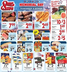 Gerrity's Weekly Ad May 23 - May 29, 2021. Memorial Day Sale!