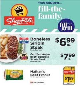 ShopRite Weekly Ad May 30 - June 5, 2021. Fill The Grill!