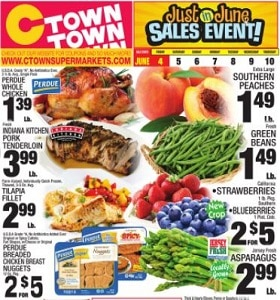 Ctown Weekly Ad June 4 - June 10, 2021. 'Just in June' Sales Event