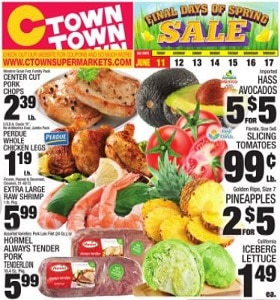 Ctown Weekly Ad June 11 - June 17, 2021. Final Days Of Spring Sale!
