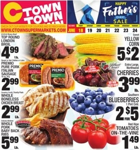 Ctown Weekly Circular June 18 - June 24, 2021. Happy Father's Day Sale!
