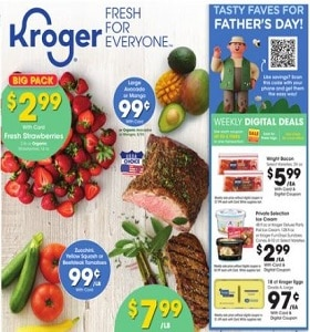 Kroger Weekly Circular June 16 - June 22, 2021. Tasty Faves For Father's Day!