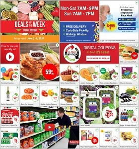 Marc's Weekly Ad June 2 - June 8, 2021. Fresh Bagged Chicken Leg Quarters