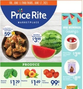 Price Rite Weekly Ad June 11 - June 17, 2021. Low Prices Everyday!