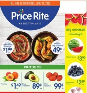 Price Rite Weekly Ad June 18 - June 24, 2021. Incredibly Low Prices!