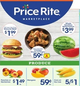 Price Rite Weekly Ad June 25 - July 1, 2021. Low Prices Every Day!