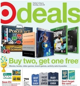 Target Weekly Ad June 13 - June 19, 2021. Gifts Dad Will Love!