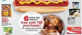 Target Weekly Ad June 27 - July 3, 2021. Grill & Chill!