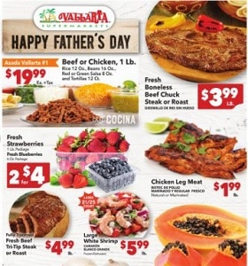 Vallarta Weekly Ad June 16 - June 22, 2021. Celebrate Father's Day!