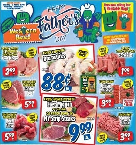 Western Beef Weekly Ad June 20 - June 26, 2021. Happy Father's Day!