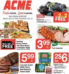 Acme Weekly Circular July 16 - July 22, 2021. Save Instantly!