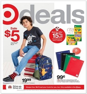 Target Weekly Ad July 18 - July 24, 2021. Back to School Deals!