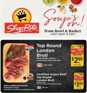 ShopRite Weekly Ad September 26 - October 2, 2021. Soup's On!